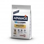 Advance Dog Mini Sensitive cu somon 7.5kg