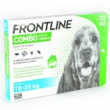 Frontline Combo M Caine 10 - 20 kg, 3 pipete