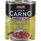 Grancarno Dog Adult Iepure si Verdeata 400g