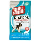 Diapers Medium 12buc