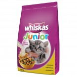 Whiskas Uscat Junior cu pui 14kg