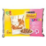 Friskies Cat Junior Multipack cu pui si morcovi 4x100g