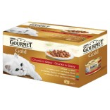 Gourmet Multipack Carne in sos 4x85g