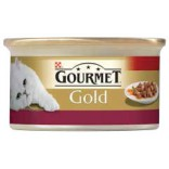 Gourmet Gold Cubulete de carne in sos cu vitel 85g
