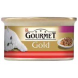 Gourmet Gold Double Pleasure cu vita si pui 85g
