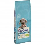 Dog Chow Large Breed Puppy cu curcan 14kg